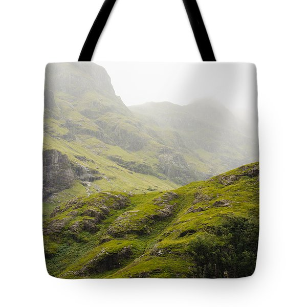 Tote Bag featuring the photograph Foggy Highlands Morning by Christi Kraft