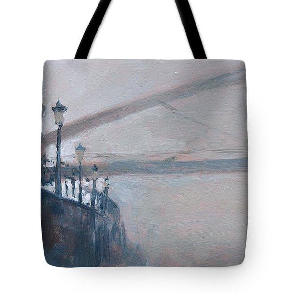 Foggy Hoeg Tote Bag