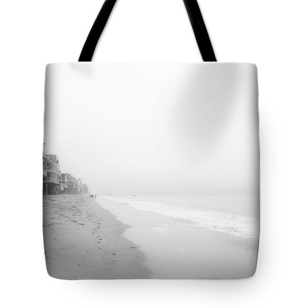 foggy Malibu Beach  Tote Bag by Ralf Kaiser