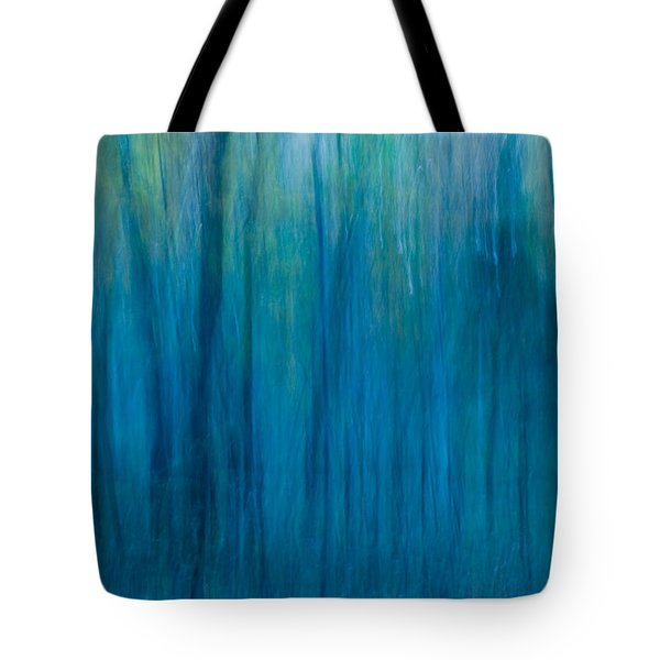 Foggy Morning Blues Tote Bag by Paul W Faust -  Impressions of Light