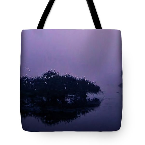 Tote Bag featuring the photograph Foggy Morning by Don Durfee