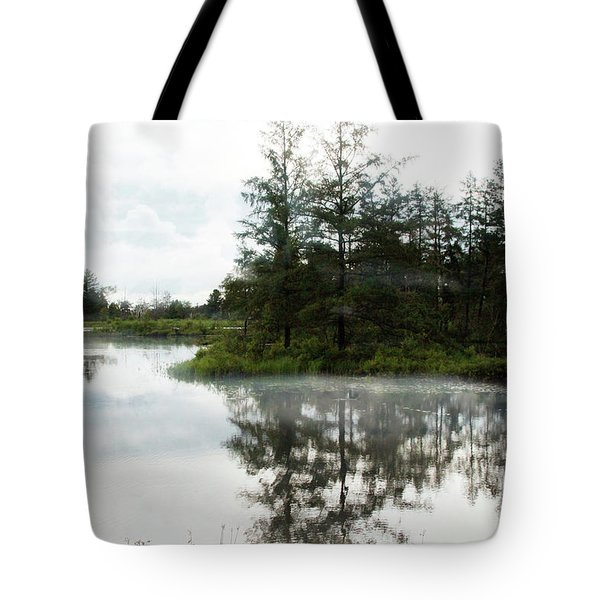 Tote Bag featuring the photograph Foggy Morning by Jackson Pearson