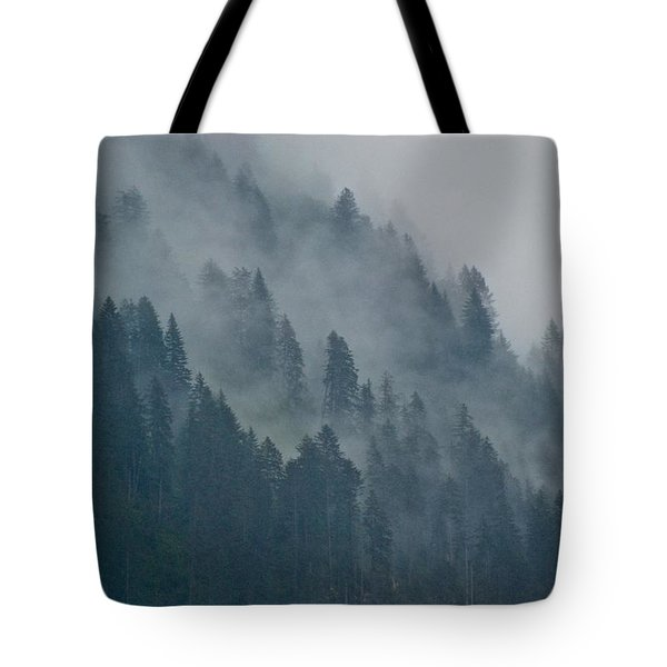 Foggy Mountain Ridge Tote Bag