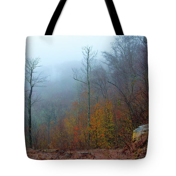 Foggy Nature Tote Bag