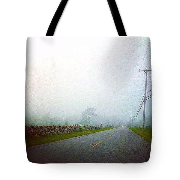 Into The Mist Tote Bag