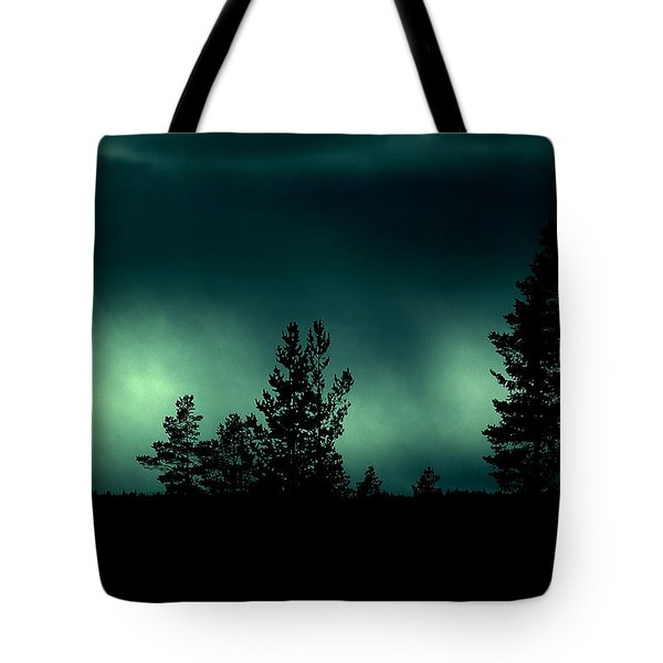 Foggy Night Tote Bag