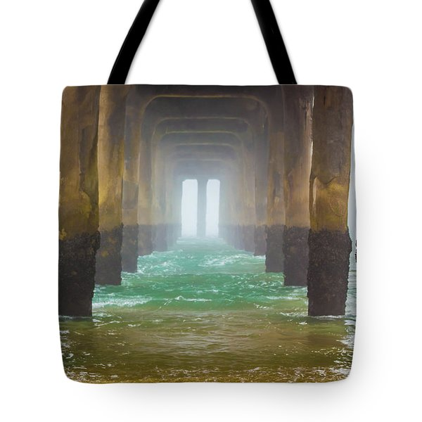 Tote Bag featuring the photograph Coastal Fog by April Reppucci