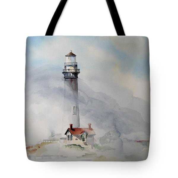 Foggy Point Tote Bag
