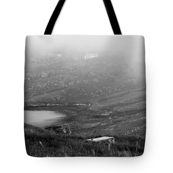 Foggy Scottish Morning Tote Bag