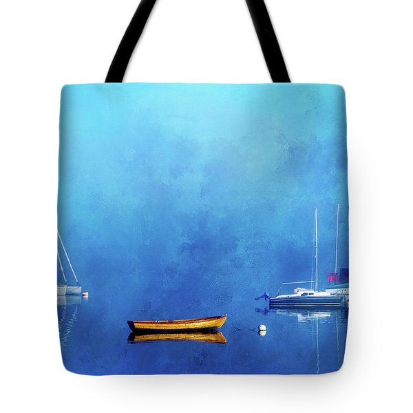 Upon The Still Waters Tote Bag