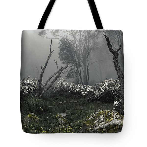 Fogscape Tote Bag by Andrew Paranavitana