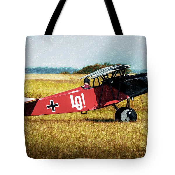 Tote Bag featuring the photograph Fokker D Vii by James Barber