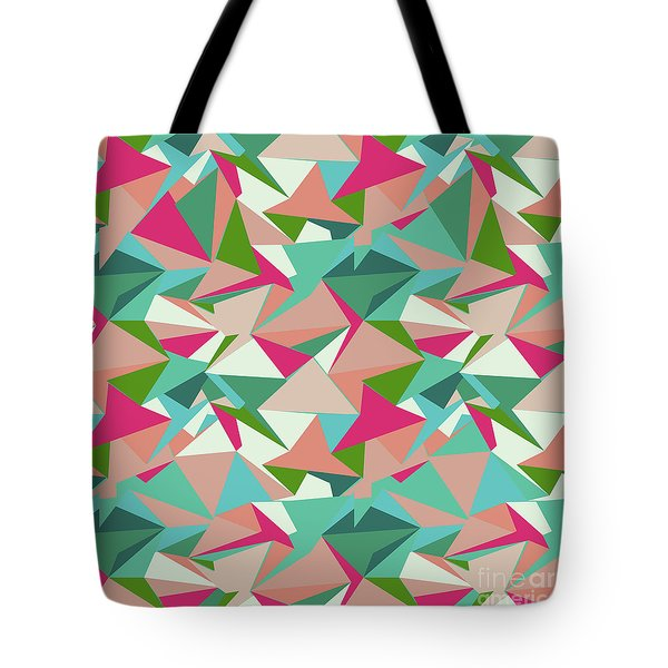 Folded Geometric Tote Bag