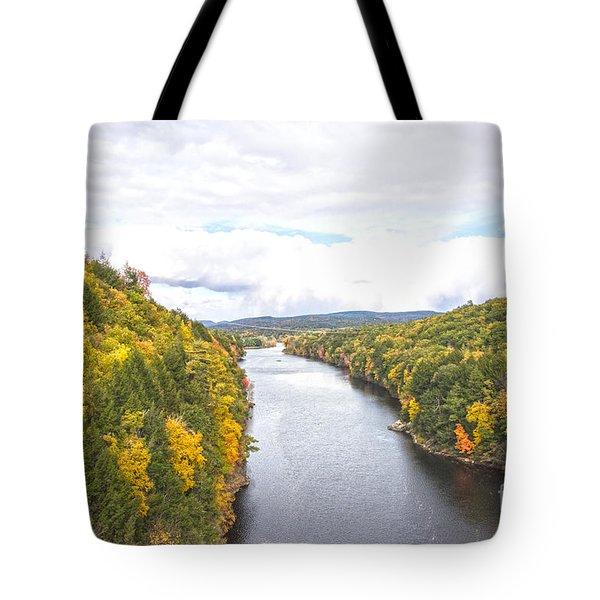 Foliage Clouds Tote Bag