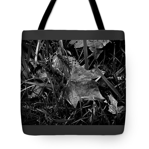 Foliage In The Grass Tote Bag