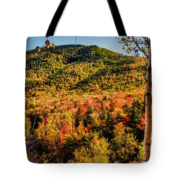 Foliage View From Crawford Notch Road Tote Bag