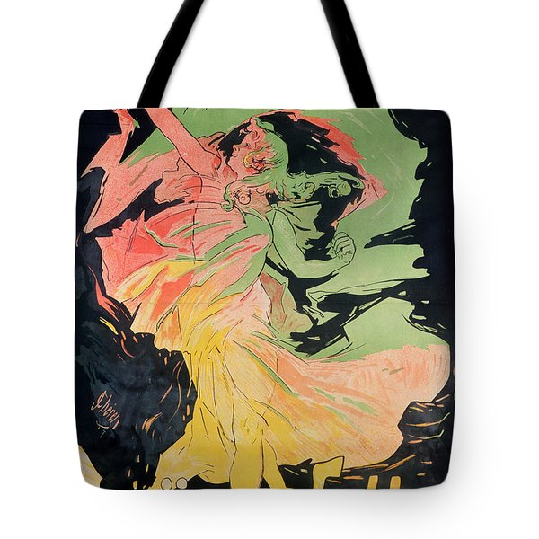 Folies Bergeres Tote Bag by Jules Cheret