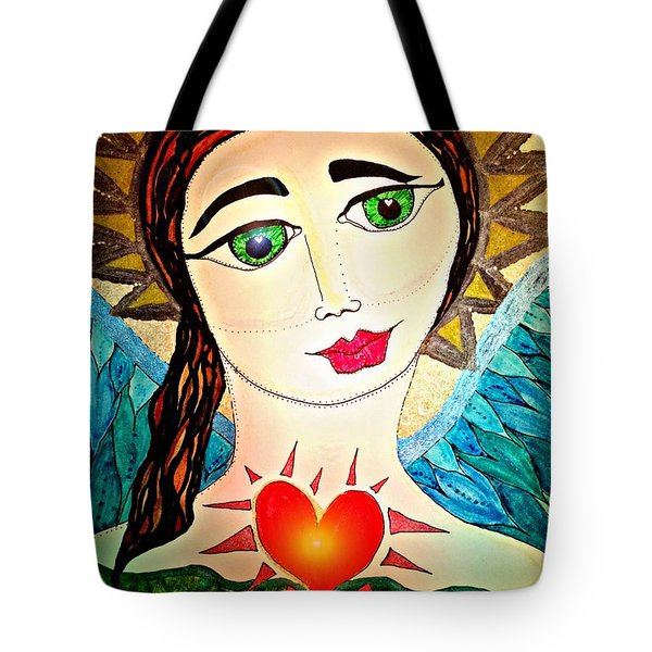Folk Athena Tote Bag
