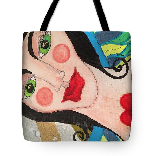 Folk Goddess Angel Tote Bag