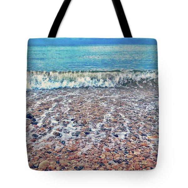 •folkestone• #beach #pebblebeach Tote Bag
