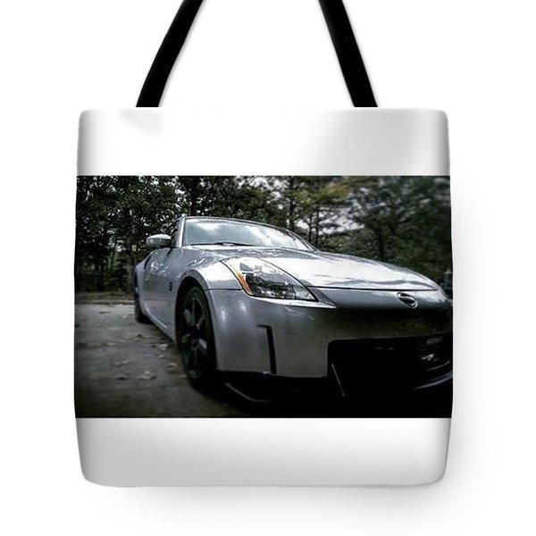 Nissan 350z Tote Bag