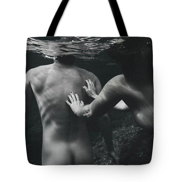 Follow Him Tote Bag