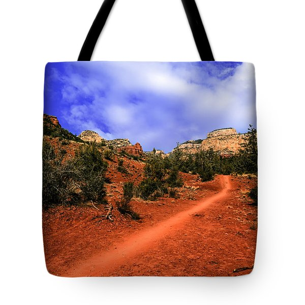 Tote Bag featuring the photograph Follow Me by Mark Myhaver