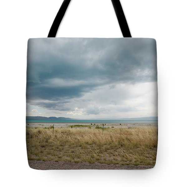 Follow The Clouds Tote Bag