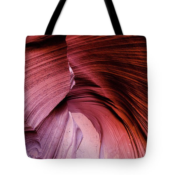 Tote Bag featuring the photograph Follow The Curves by Stephen Holst