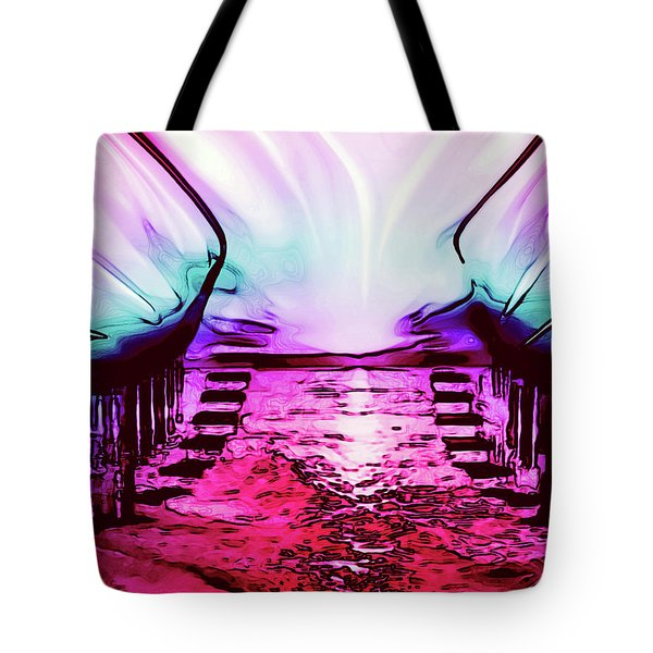 Follow The Light Tote Bag