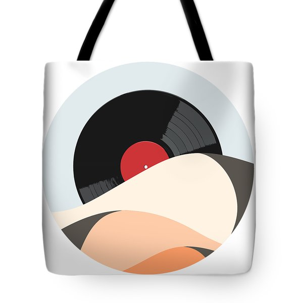 Follow The Music Tote Bag