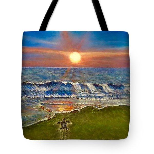 Follow The One True Light Tote Bag