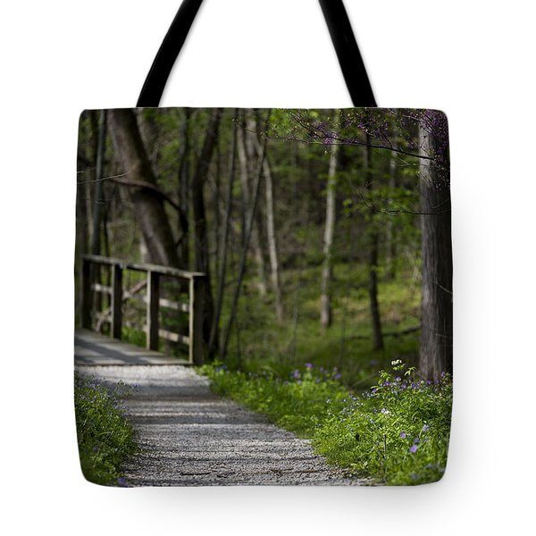 Follow The Path Tote Bag