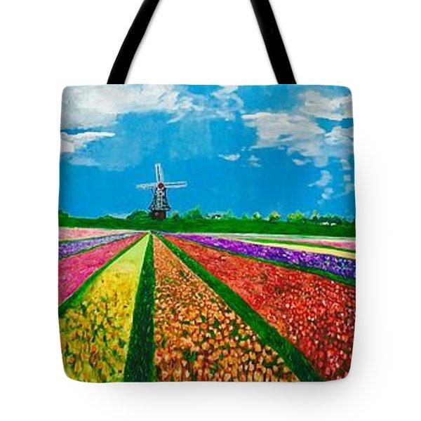 Follow The Rainbow Tote Bag by Belinda Low