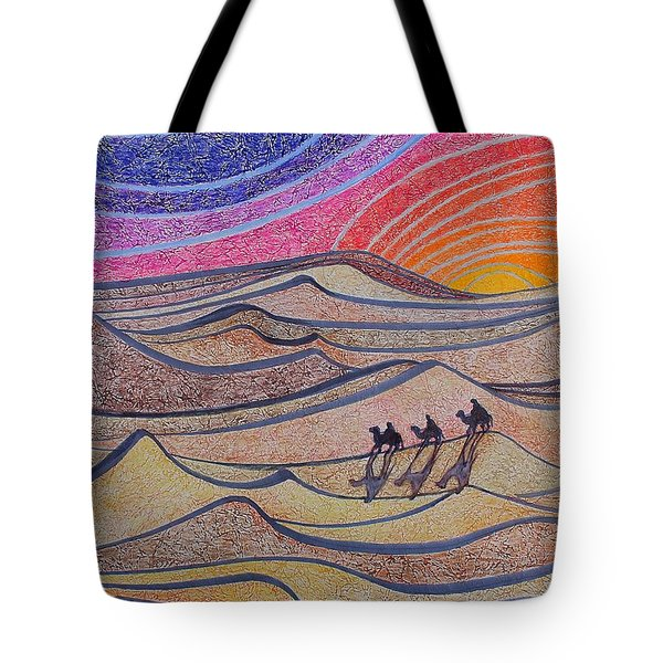Follow The Star   Tote Bag