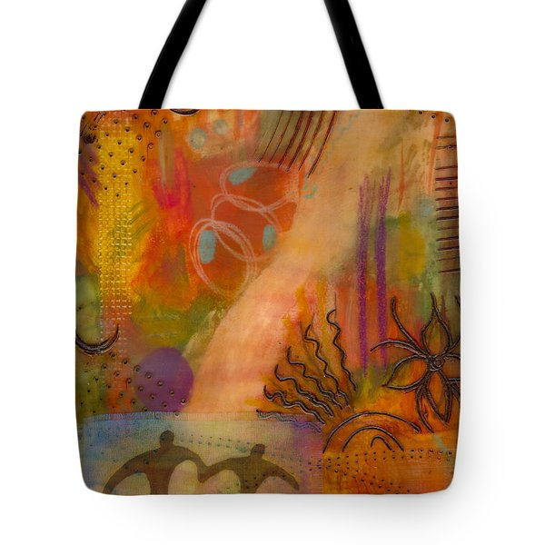 Follow The Yellow Brick Road Tote Bag by Angela L Walker