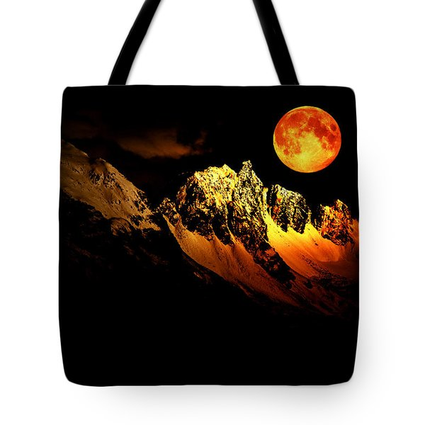 Follow Your Inner Moonlight Tote Bag