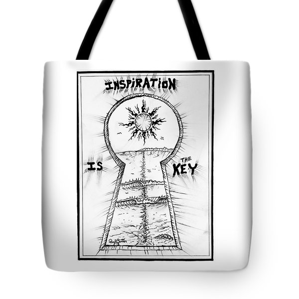 Follow Your Inspiration  Tote Bag