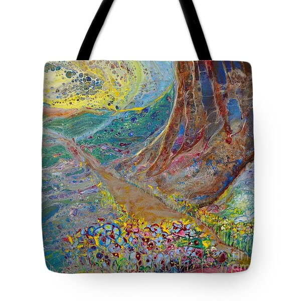 Follow Your Path Tote Bag