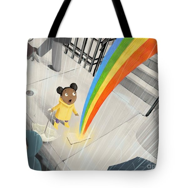 Follow Your Rainbow Tote Bag
