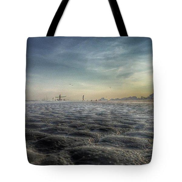 Folly Beach Tote Bag