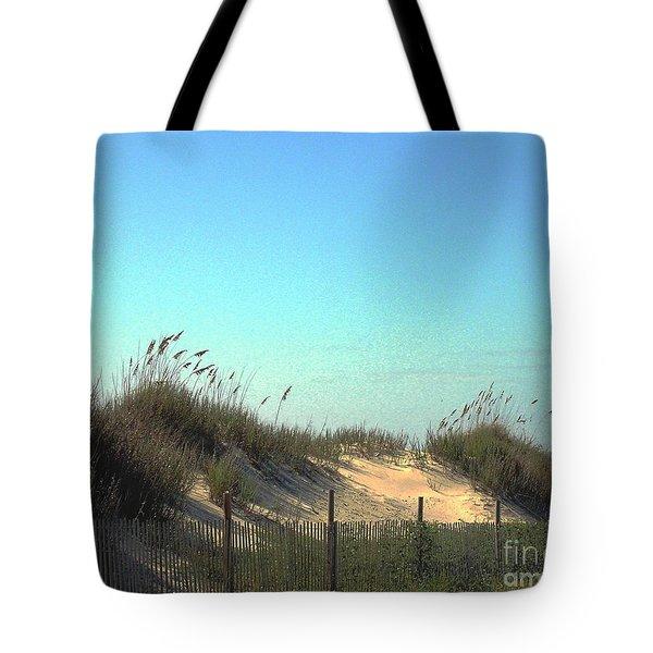 Folly Beach Sc Dunes Tote Bag