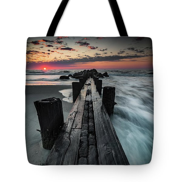Folly Beach Tale Of Two Sides Tote Bag