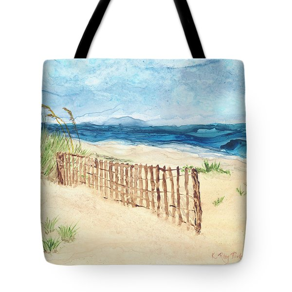 Folly Field Fence Tote Bag