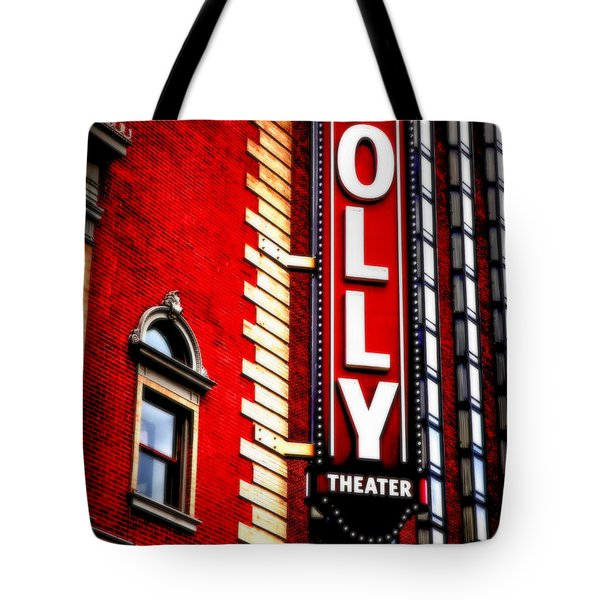 Folly Theater Tote Bag