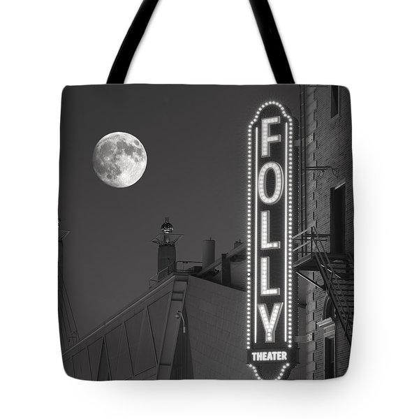 Folly Theatre Kansas City Tote Bag by Don Spenner