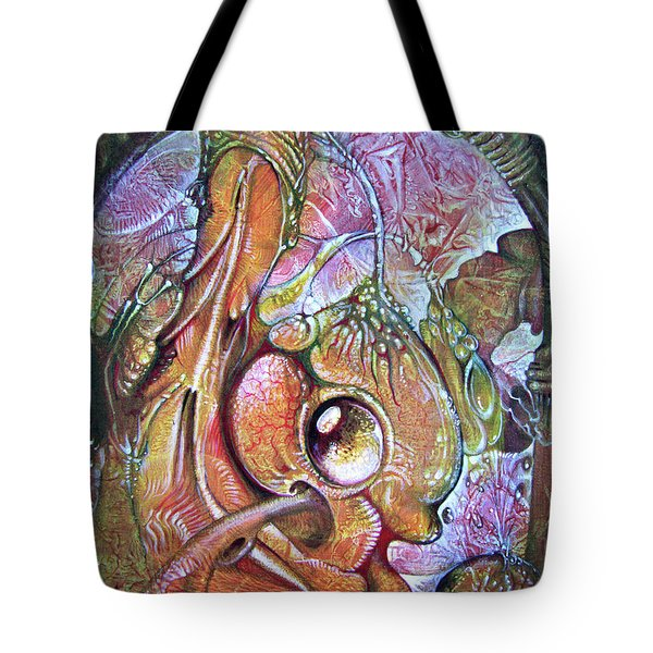 Fomorii Incubator - In The Beginning Tote Bag by Otto Rapp