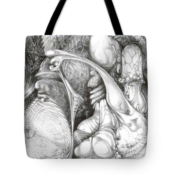 Fomorii Interior Tote Bag by Otto Rapp