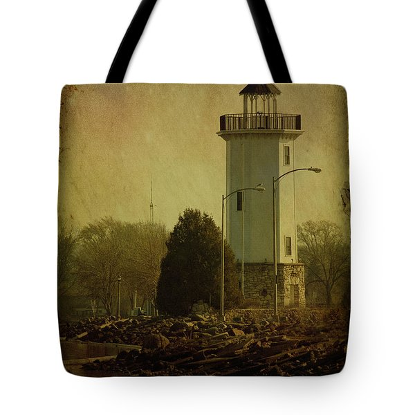 Fond Du Lac Lighthouse Tote Bag