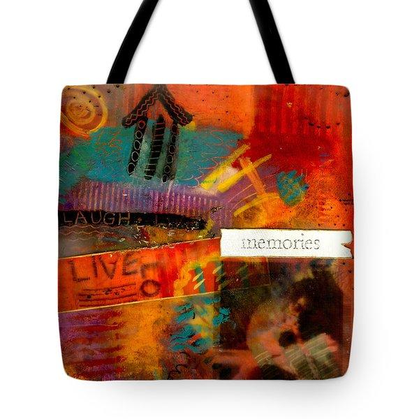Fond Memories Tote Bag by Angela L Walker